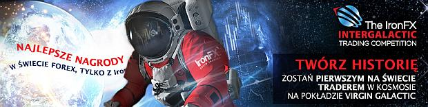 Konkursy forex - leć w kosmos z IronFx