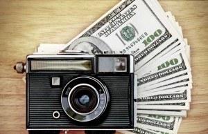 Zarabianie na zdjęciach - fotografia stockowa