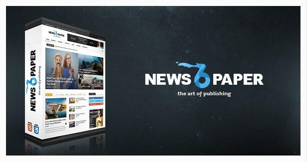 Szablon magazynu na WordPress