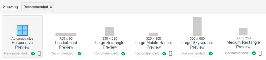 Zarabianie na AdSense - jaki rozmiar jednostek reklamowych wybrać