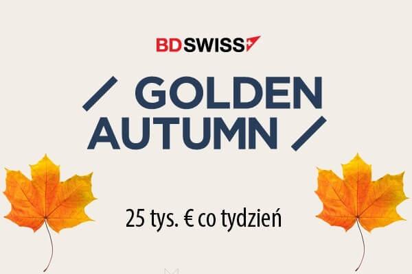 Konkurs Golden Autumn na BDSwiss