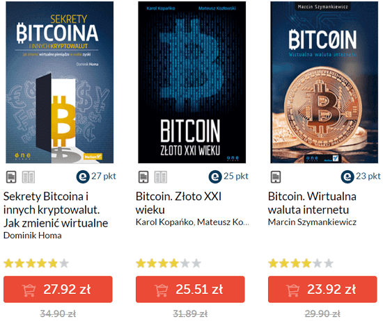 ebooki o Bitcoinie